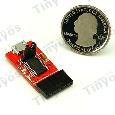 FTDI Basic Breakout USB-TTL 6 PIN 3.3/5V For Arduino(Micro USB)
