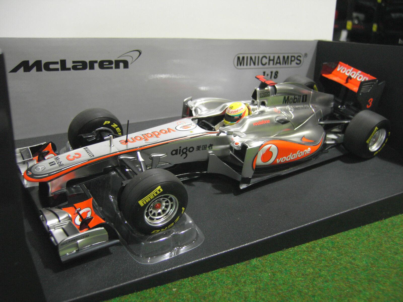 F1 McLAREN MP4-26 HAMILTON 2011 formule 1 VODAFONE au 1 18 MINICHAMPS 530111803