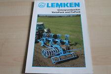 128712) Lemken Untergrundpacker VarioPack Fix Prospekt 06/2011
