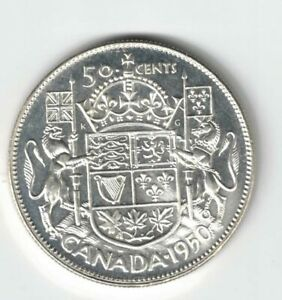 CANADA-1950-FULL-DESIGN-50-CENTS-HALF-DOLLAR-GEORGE-VI-800-SILVER-COIN-CANADIAN