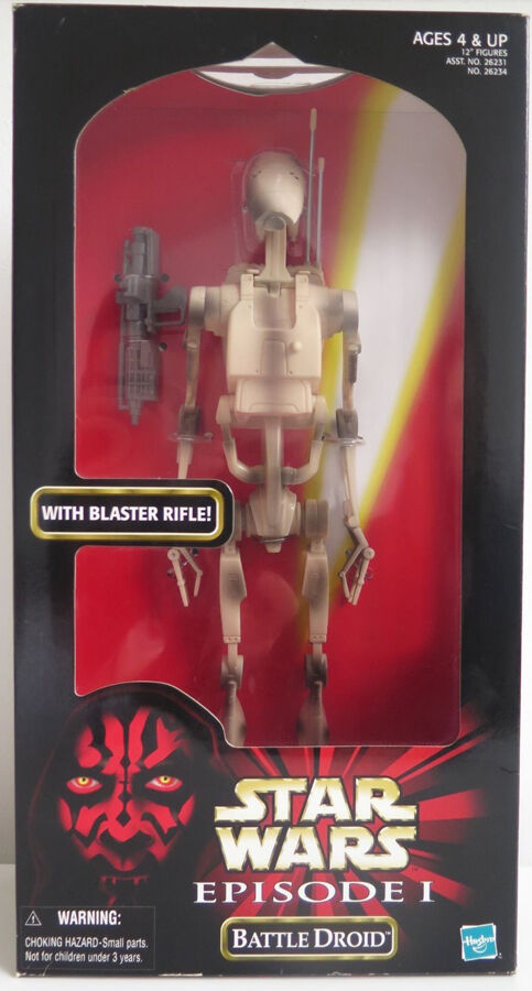 Star Wars Battle Droid Episode I Figure Hasbro Guerre Stellari Model