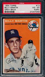 1954-Topps-Baseball-13-Billy-Martin-PSA-4-MK-VG-EX-Gray-Back-p02092