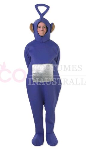 Teletubbies Costume Party Fancy Dress Up Licensed Outfit Unisex Adult Jumpsuit