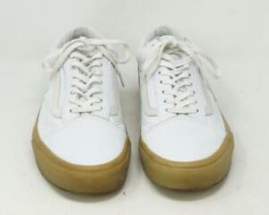 Détails sur Vans Off The Wall 721278 Lacet Course Chaussures Baskets Blanc  Hommes 8.5 Femme