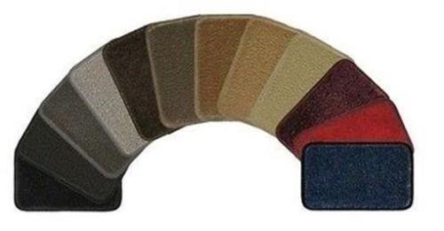 Lloyd VELOURTEX Carpet 1pc Front Floor Mat Choose from 12 Colors