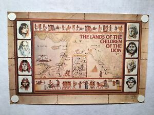Ron-Toelke-Signed-Poster-Print-1980-034-The-Lands-of-the-Children-of-the-Lion-034