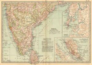CréAtif L'inde Du Sud Ceylan. Bombay Malaisie Singapour. Montre Clé Batailles/dates 1903 Carte-s Key Battles/dates 1903 Map Fr-fr Afficher Le Titre D'origine éLéGant Et Gracieux
