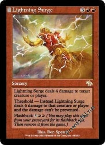 Red Judgment Mtg Magic Rare 1x x1 1 FOIL Lightning Surge