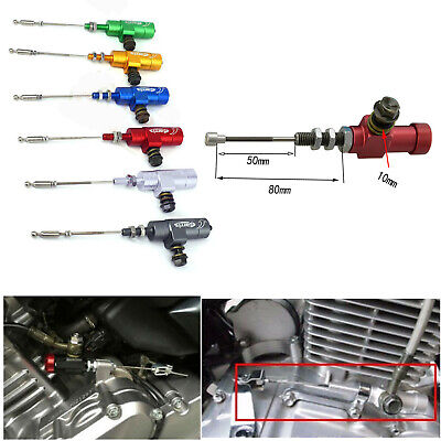 Red Refit Hydraulic Clutch Slave Cylinder Pull Rod For Mororcycle Dirt Pit Bike ATV