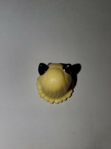 Lego Minifigure Blond Hair Cat Ears w// Cat Face Head Hard to Find Genuine