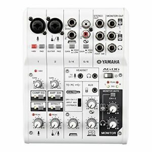 New-YAMAHA-6Channel-Web-Casting-Mixer-2Channel-USB-Audio-Interface-AG06