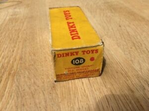 Dinky 108 -  MG Midget Sports