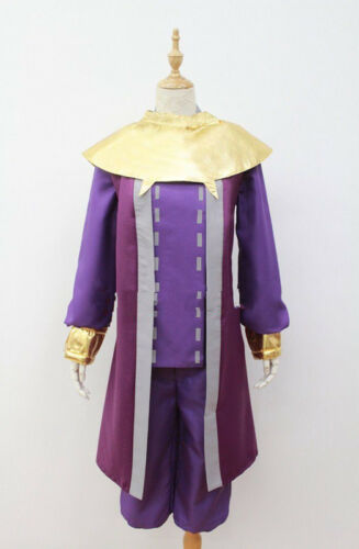 legend of zelda majora/'s mask happy mask salesman Cosplay Costume purple HH.108