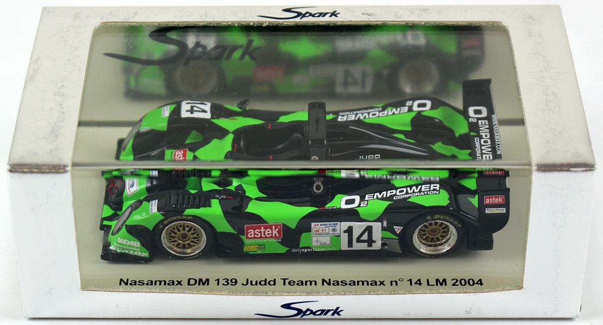 Spark 1 43 Nasamax DM 139 Judd  14 Le Mans 2004 S0054