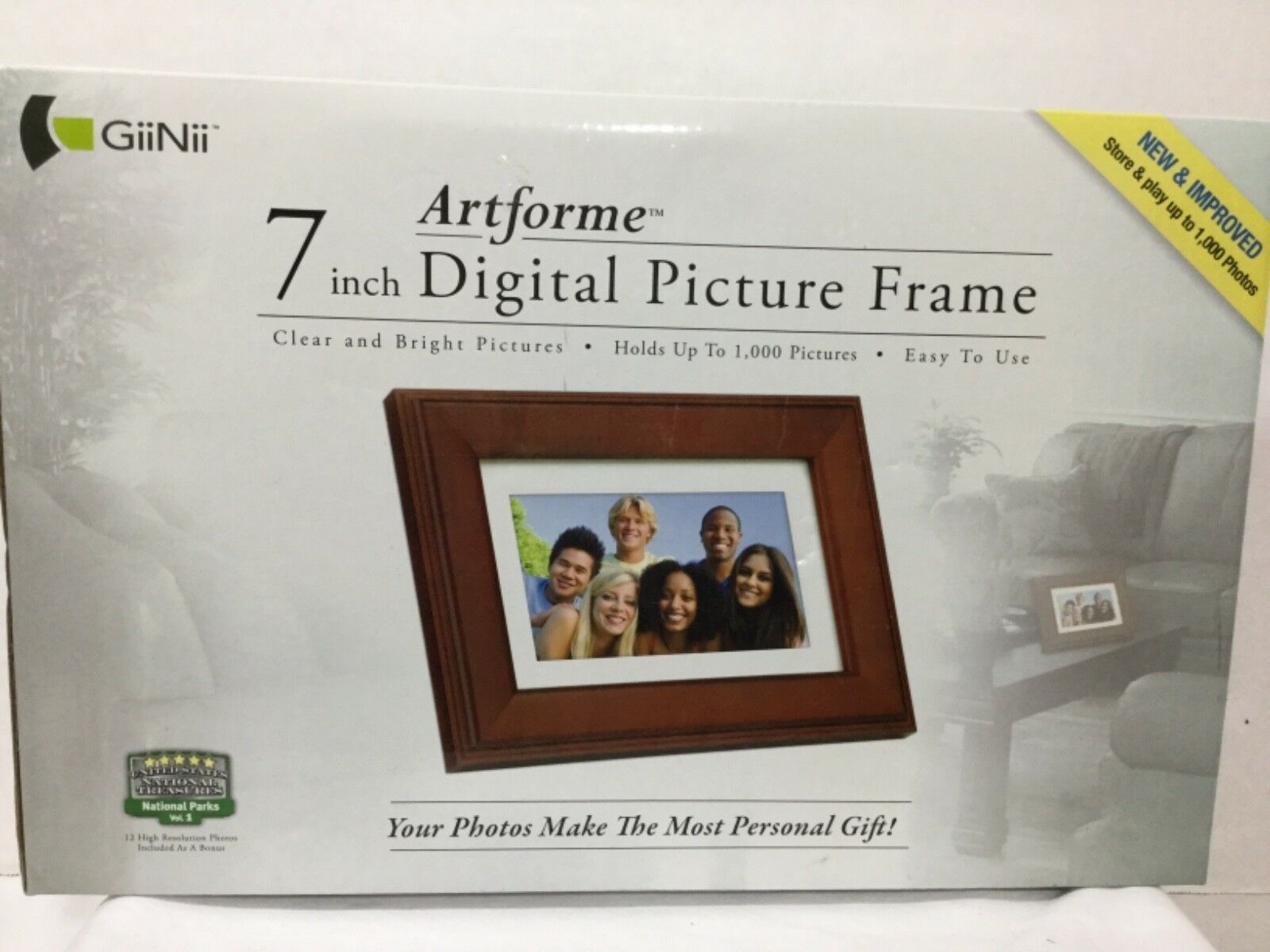 Giinii Artforme 7 Inch Digital Picture Frame Ebay