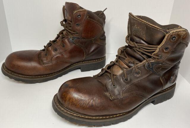 Justin Mens 9 M Brown Composite Toe