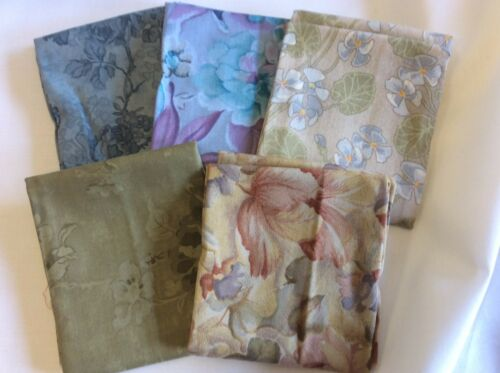 FAT QUARTER BUNDLE OF 5100% COTTON F55