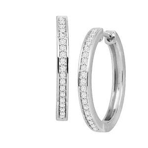 1-4-ct-Diamond-Inlay-Hoop-Earrings-in-Sterling-Silver