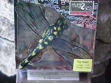 Discontined River2Sea Popper Japan Design DRAGON FLY POP 70/DF-02 BLK/YELLO SPOT