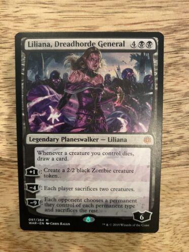 1x Liliana Dreadhorde General NM Multi Available Commander Fast Ship!