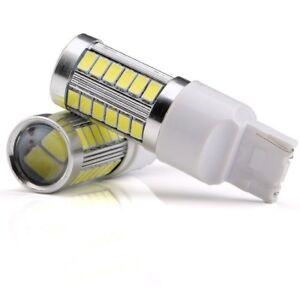 4X Strobe Flash T20 7440 33SMD LED Car Turn Signal Fog Lamps Brake Lights Bulb