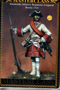 MASTERCLASS-MCF7516-Smolensky-infantry-regiment-Corporal-Russia-1718-75-mm