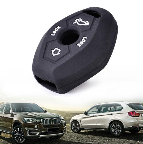 Silicone Skin Cover Remote Key Case Shell Fit BMW E81 E46 E38 X3 X5  Z3  Z4