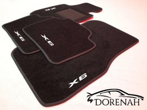 Tappetini tappetini per BMW X6 F16 bordi personalizzabili 6