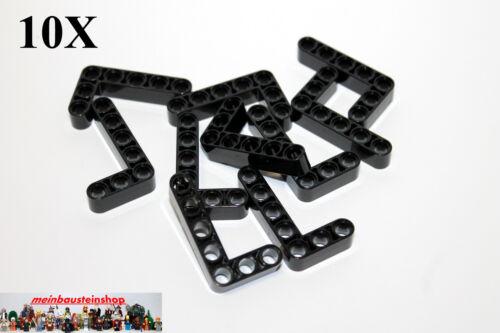 10X Lego® 32526 Technic Technik Liftarme 3X5 Dick Bean Thick Schwarz Black NEU