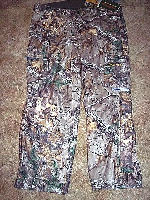 Mens 3X Camo Hunting Pants Realtree  Camo Rain Pants Scent Control Browning  150  best sale