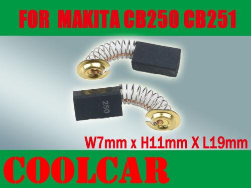 Carbon Brushes For Makita CB250 CB251 4100NB 4100R 4010R 5X11X15.5mm 4200N Drill