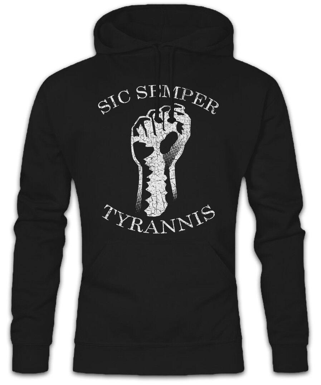 Sic Semper Tyrannis II Hoodie Hoodie Hoodie Sweatshirt Thus always to tyrants United States  | Am praktischsten  | Diversified In Packaging  | Lass unsere Waren in die Welt gehen  883b46