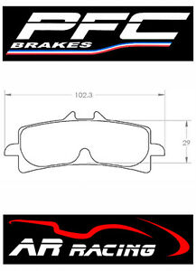 Performance-Friction-Race-Brake-Pads-95-Comp-for-Suzuki-GSXR-750-L1-L5-2011-2015