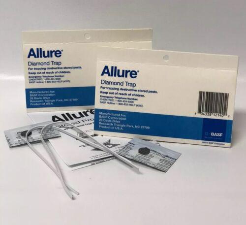 6 Traps of Allure Pheromone Diamond Shaped Traps Moth Control 6 Lures /& 6 Hooks
