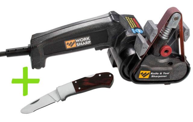 Work Sharp Knife and Tool Sharpener im Set mit Herbertz Kinder-Taschenmesser