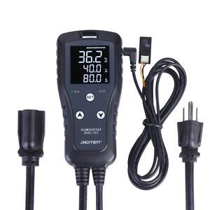 XH-W3005 220V LED Digital Humidity Controller Hygrometer Switch with Sensor U2L9