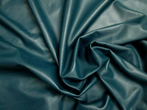 SystéMatique Agneau Nappa Cuir 0.7 Mm Petites Pièces Teal Magnifiquement Douce Lisse Barkers N248-afficher Le Titre D'origine Un RemèDe Souverain Indispensable Pour La Maison