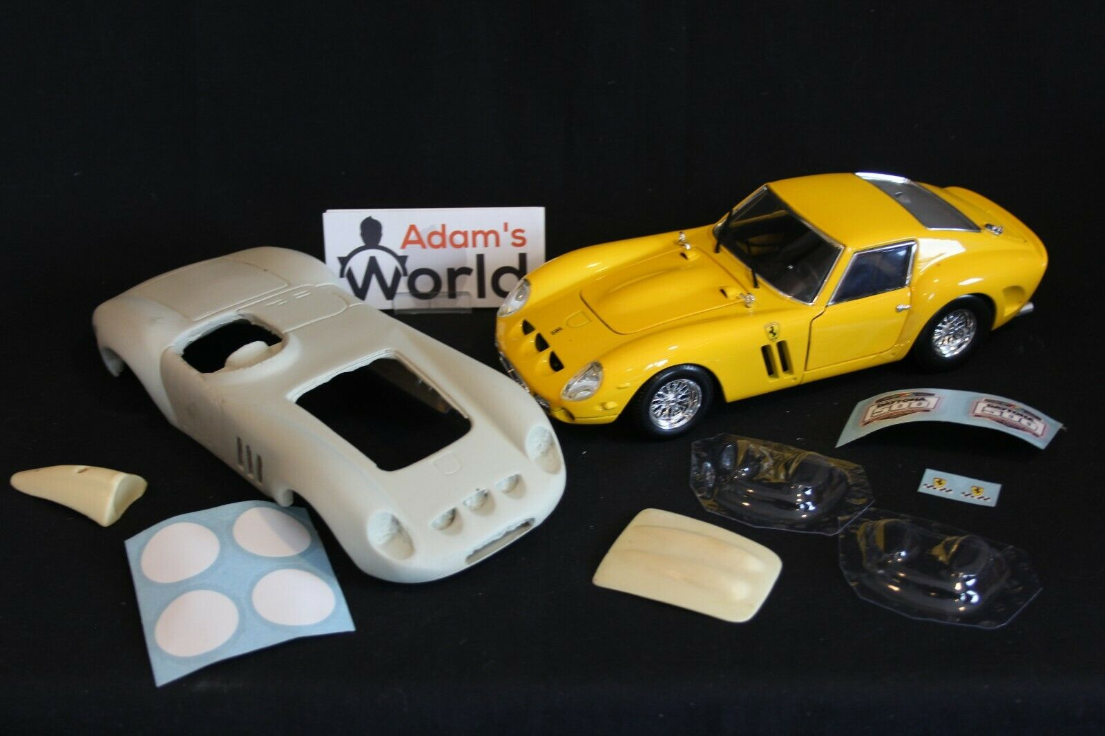 Hot Wheels Ferrari 250 GTO Speedster 1 18 transkit + donor model (PJBB)