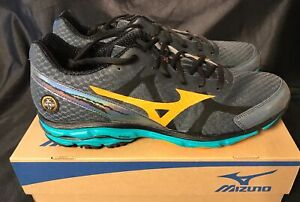 low priced 719aa a3101 Details about Men's Mizuno Wave Rider 17 Running Shoes - New in Box -  Retail $114.99