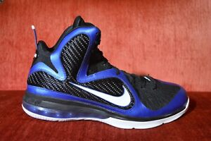 san francisco da7c4 ecd3f Image is loading WORN-2X-Nike-LeBron-IX-9-Kentucky-Varsity-