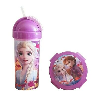 Disney Frozen 2 Die Eiskönigin 2 Anna Elsa Olaf Kunststoff Tasse 350 ml BPA-frei