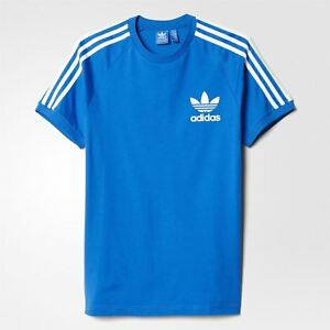 Originals T Shirt California Adidas Men's Bluebird 3 Stripes Tee Ex1dHfwq