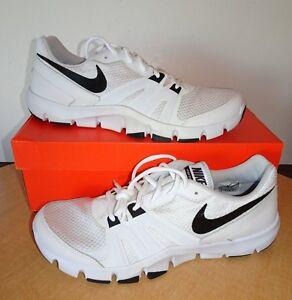 e50035efd48f La foto se está cargando Mens-Nike-Flex-Show-TR4-White-Black-807182-