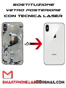 Riparazione Cambio Sostituzione Vetro Posteriore Back Glass Apple Iphone X Ebay