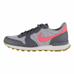 Details about Nike Internationalist Women GreyPink 828407 020