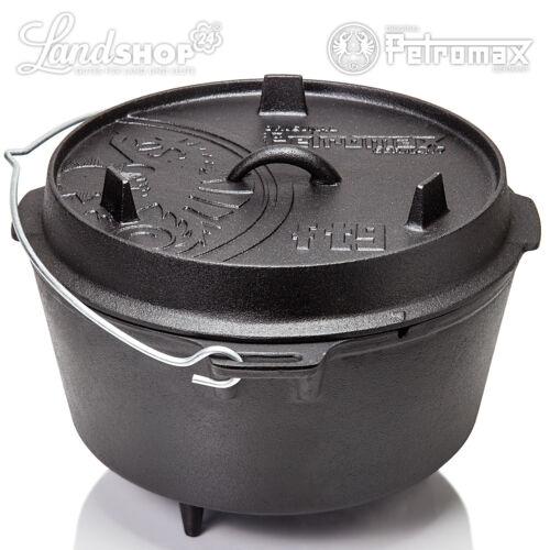 Feuertopf Gusseisen Dutch Oven von 1-20 Pers Petromax Zunder Fachhändler mF