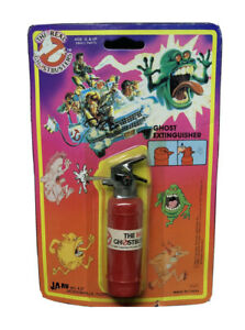 THE-REAL-GHOSTBUSTERS-1986-JA-RU-Ghost-Extinguisher-vintage-NOS-Slimer-Ecto-1