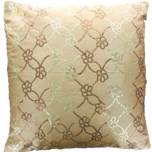 Sequin Silky Cushion Cover