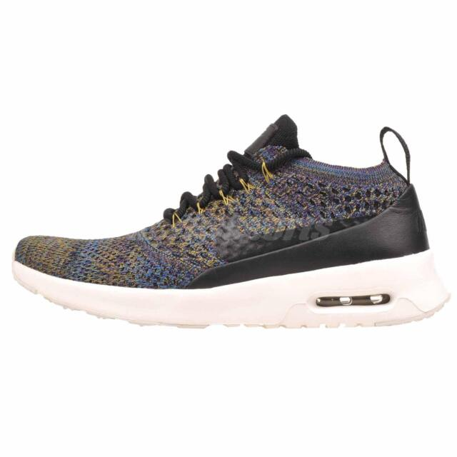 check out 1a069 2125c Nike Wmns Womens Air Max Thea Ultra FK Running Shoes Black Purple 881175-006