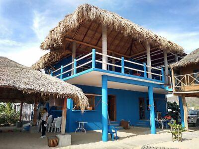 cabañas en renta enfrente de la playa